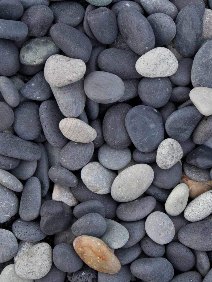 Amagard Piedra de Mar Negra 8-16mm por Saca (300, 600, 900, 1.250 y 1800KG) (Piedra 8-16mm (1 Saca de 300)): Amazon.es: Jardín