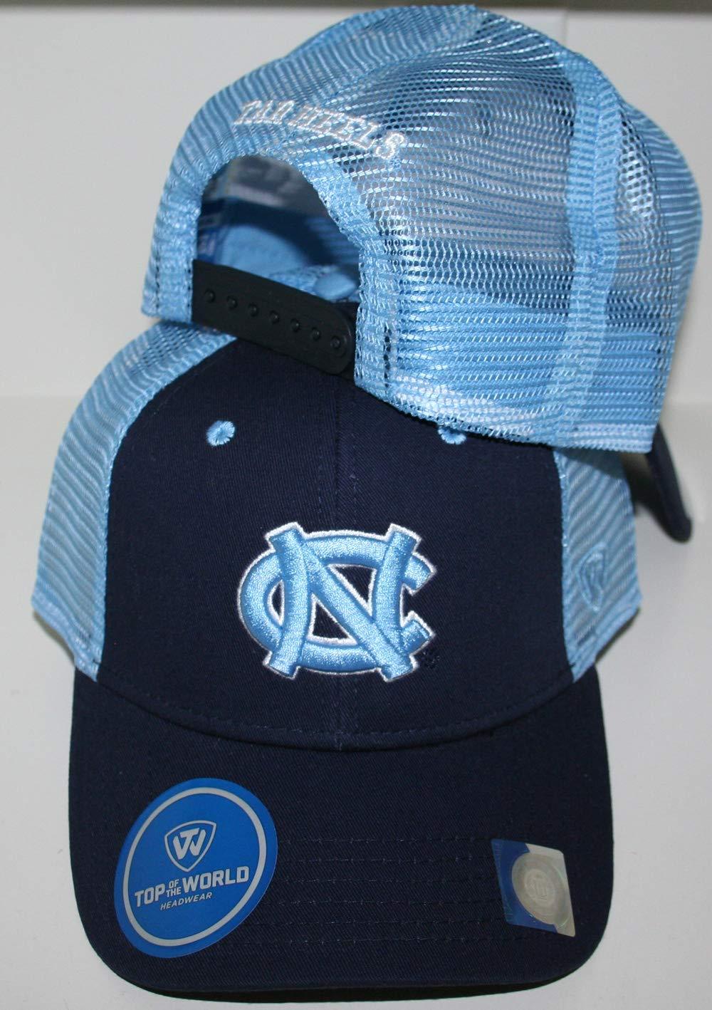 University of North Carolina UNC Tar Heels Blue Classmen Tucker Mesh Womens//Mens Baseball Hat//Cap Size Adjustable