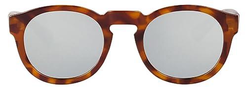 MR.BOHO, Leo tortoise noord with silver lenses - Gafas De Sol unisex multicolor (carey), talla única