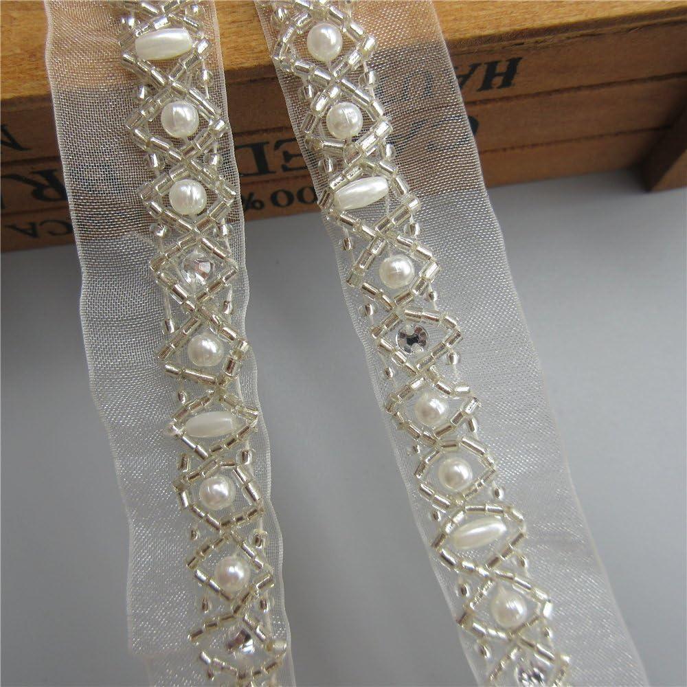 Glitter Rainbow Leaf Floral Rhinestone Claw Chain Silver Trim Metal Cup Close Chain Handmade Jewelry High Quality Wedding Veil Finding 15mm