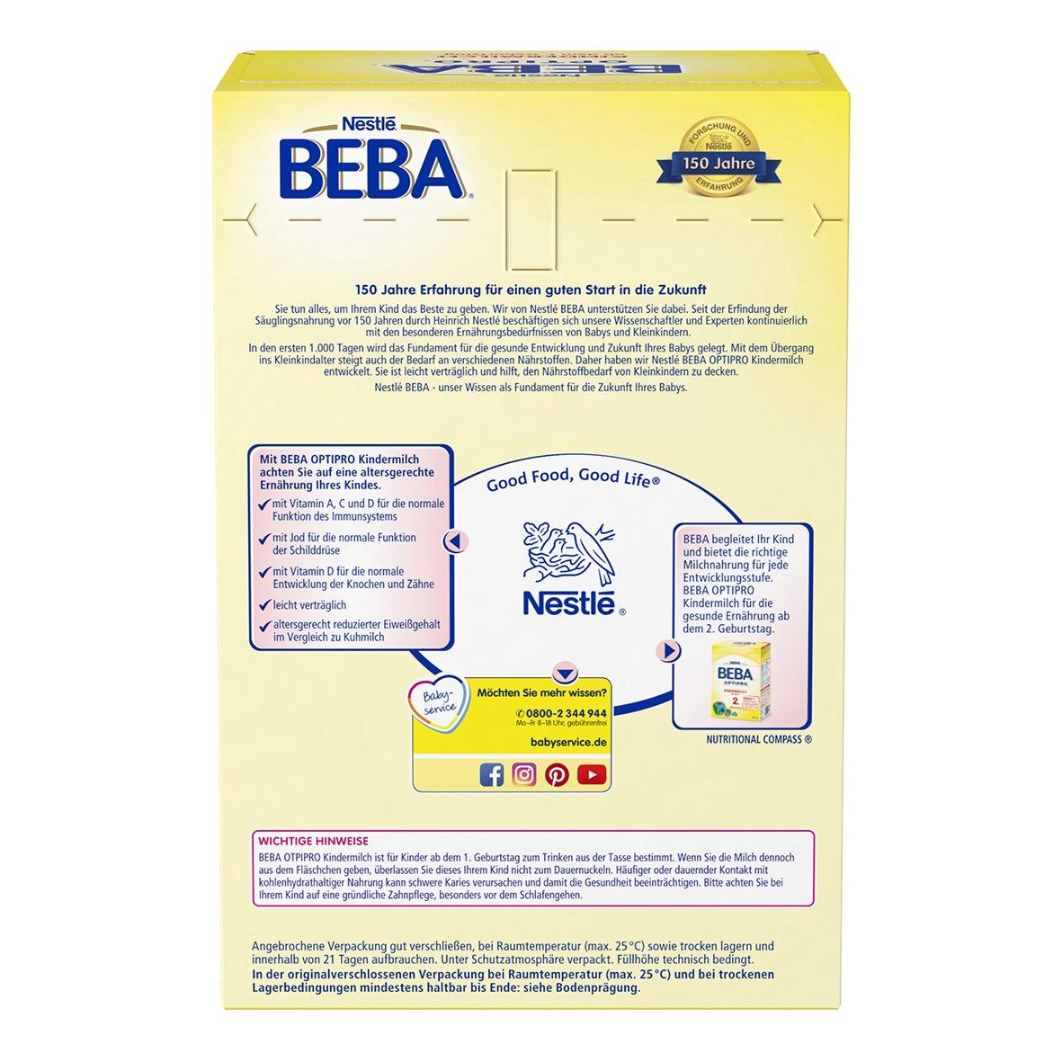 Nestlé Beba Optipro Kindermilch Ab Dem 1 Geburtstag 1er Pack 1 X