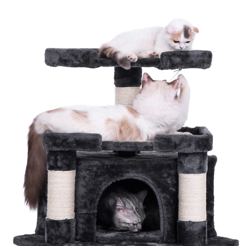 Cat Tower Kitty Activity Center Kitten Play House Luxury