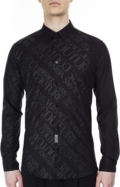 Versace Jeans Couture B1GVB6S1-30205 Casual - Camisa para hombre Talla 52: Amazon.es: Ropa y accesorios