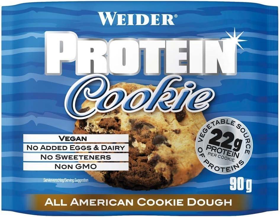 Weider Protein Cookie Galleta Proteica - 90 gr: Amazon.es ...