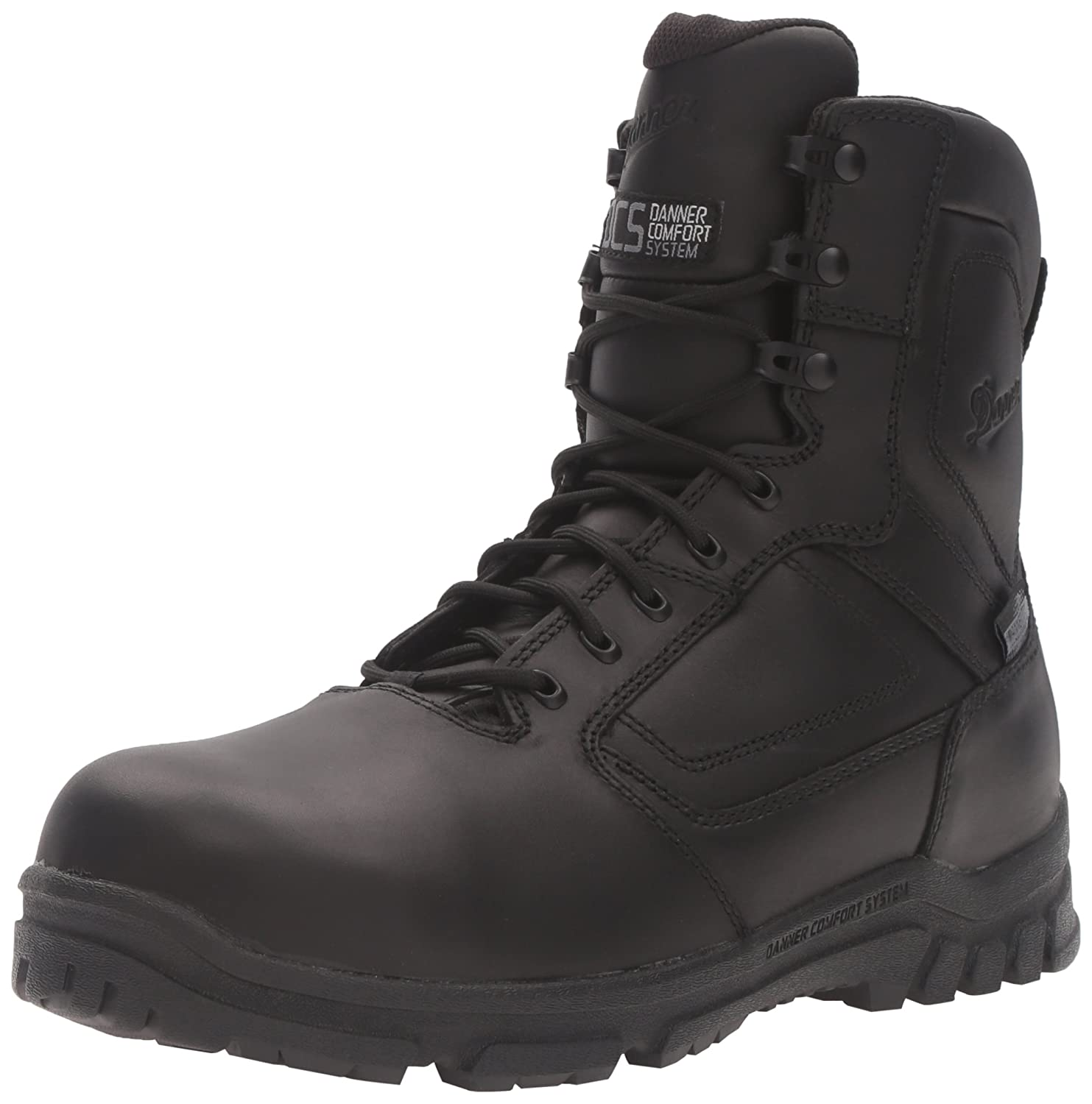 Black Danner Men's Lookout EMS CSA Side-Zip NMT Military & Tactical Boot