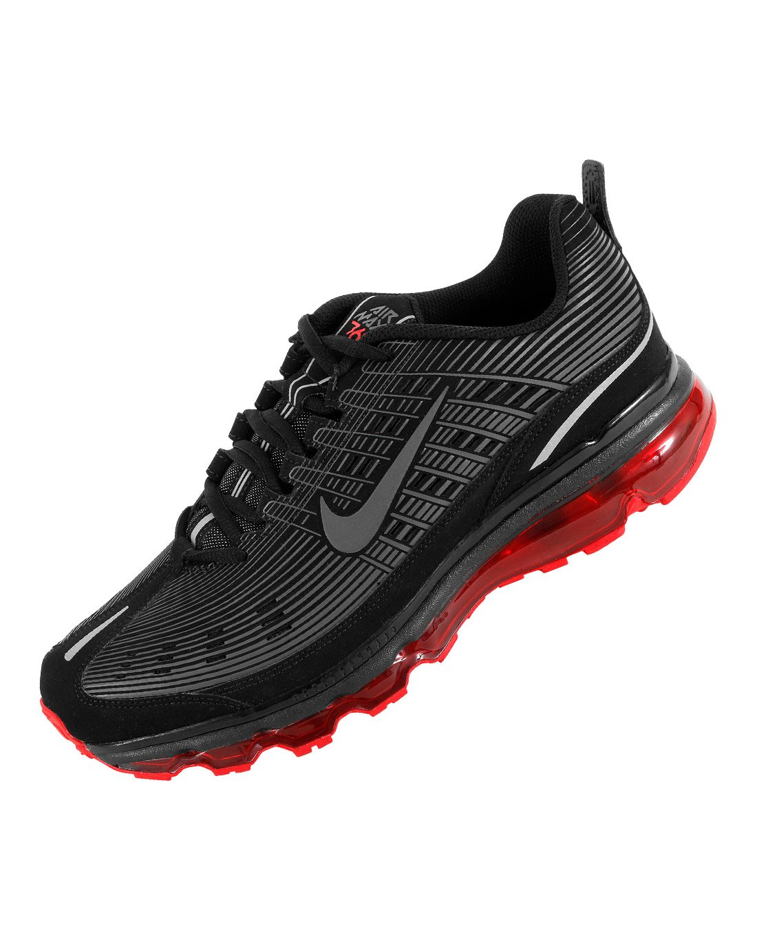 Air Running 006 Gr42 Leather Max 2006 Nike 525230 Schwarz Qshtrd