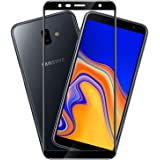 Hupshy Edge to Edge Curved Full Tempered Glass Screen Guard for Samsung Galaxy J6 Plus - Black