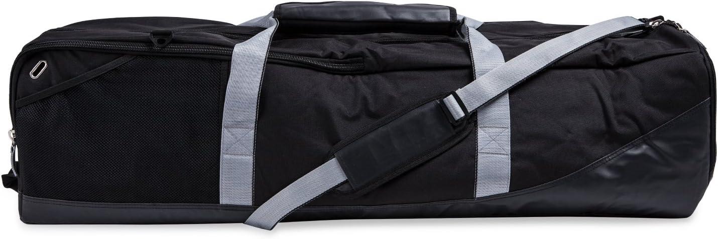 Champion Sports Lacrosse Equipment Bag: Duffel Sports Bag for Mens & Womens, Girls & Boys Gear - Black : Sports & Outdoors