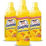 Pack Suavitel Suavizante de Ropa Cuidado Superior, Aroma de Sol, 850 ml, 3 Piezas