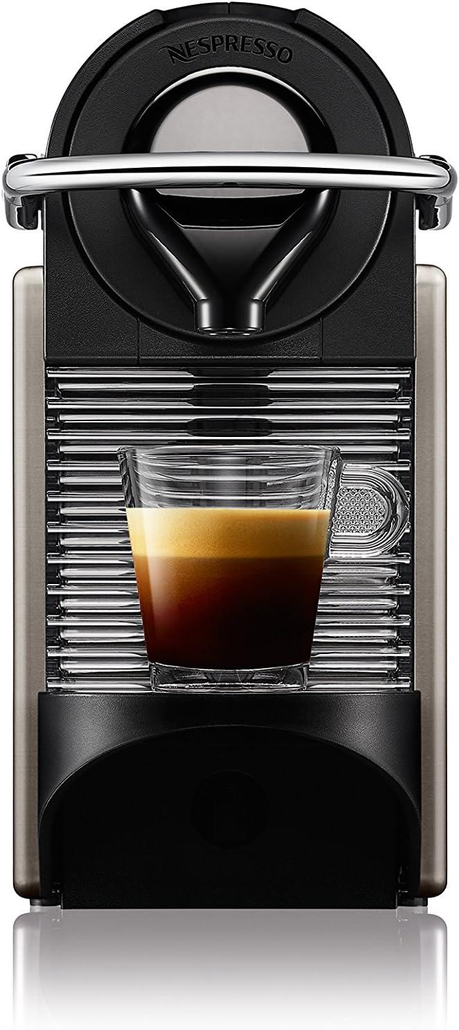 Nespresso Krups Pixie XN3005 - Cafetera monodosis de cápsulas Nespresso, 19 bares, apagado automático, color gris: Amazon.es: Hogar