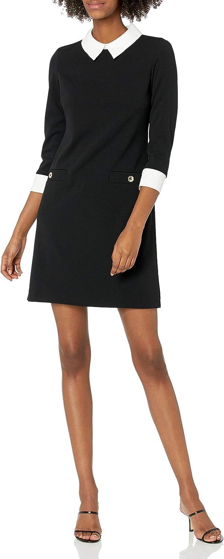 Tommy Hilfiger Women's Neck Tie A-line 55% half OFF Dress