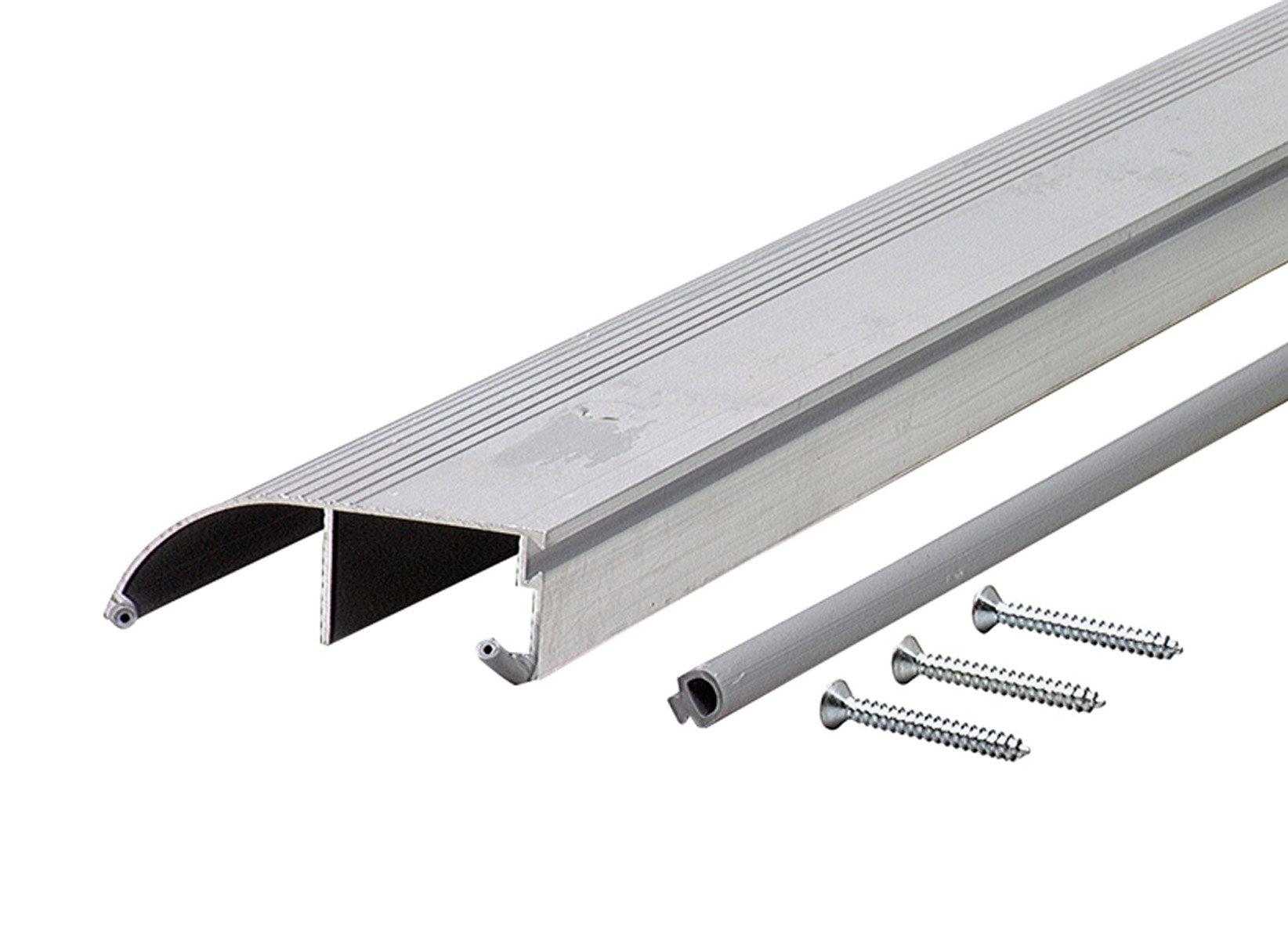 M-D Building Products 69698 1-1/4-Inch by 4-Inch by 72-Inch TH153 Bumper Threshold, Mill