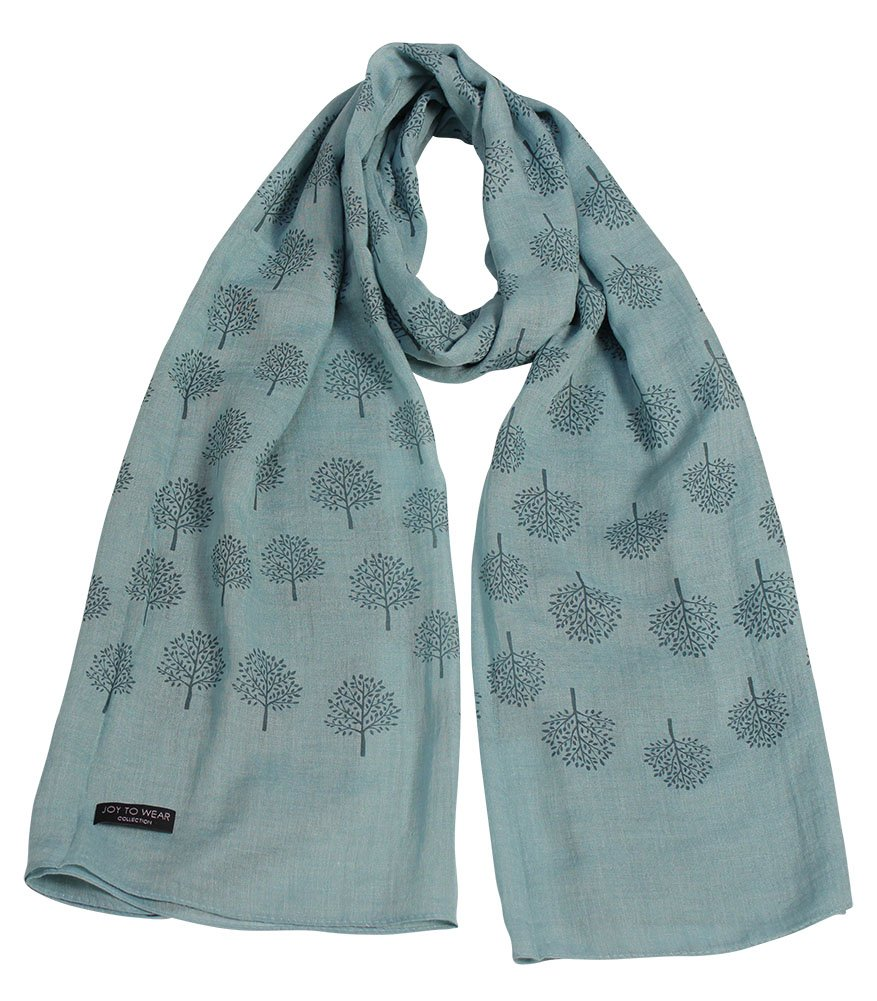 Mulberry Tree Print Fashion Scarf