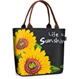 Lunch Bags for Women Tote Cooler Bag Leakproof Insulated Lunch Box Lunch Containers Work Purse for Picnic Boating Beach…