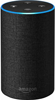 Echo (2nd Generation) - Smart speaker with Alexa and Dolby processing  - Charcoal Fabric