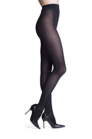 3da5849c0 INSIGNIA Headliner Opaque Pantyhose - Black (D) at Amazon Women s ...