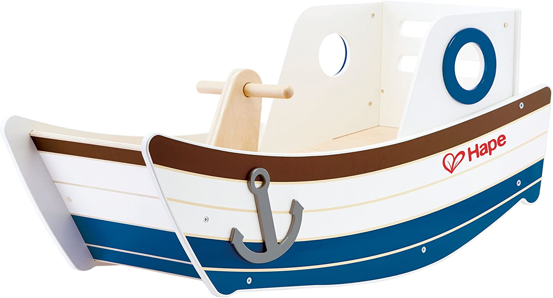 Hape- Barca balancín (Barrutoys E0102)