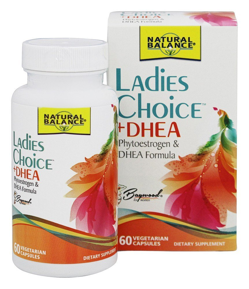 Ladies Choice Plus DHEA 60 Vcaps Natural Balance