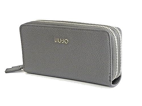 PORTAFOGLIO LIU JO BARONA XL DOUBLE ZIP AROUND A68188 E0059 GRAPE JUICE   Amazon.it  Scarpe e borse 5924071334f