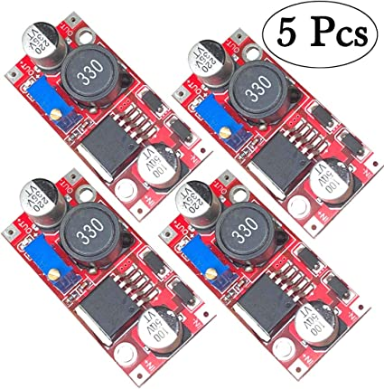 10 Pack LGDehome LM2596 DC-DC Step Down Buck Converter 3.0-40V to 1.5-35V Adjustable Power Supply Moudule