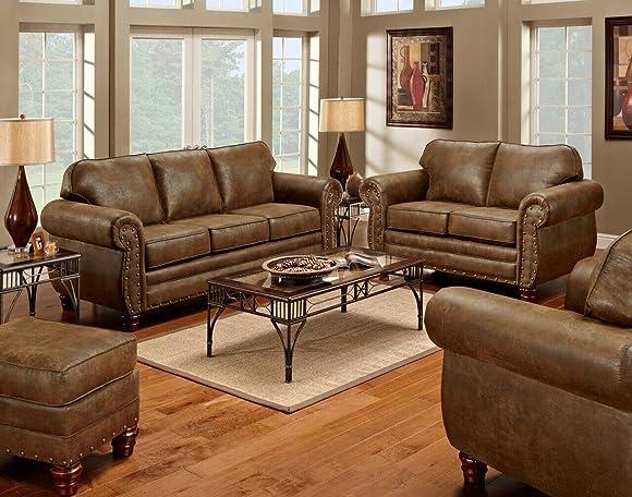 American Furniture Classics 4-Piece Sedona Sleeper Sofa - a good cheap living room sofa