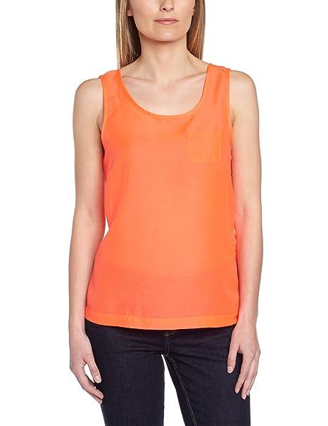 Vero Moda Camiseta con cuello redondo sin mangas para mujer: Amazon.es: Ropa y accesorios
