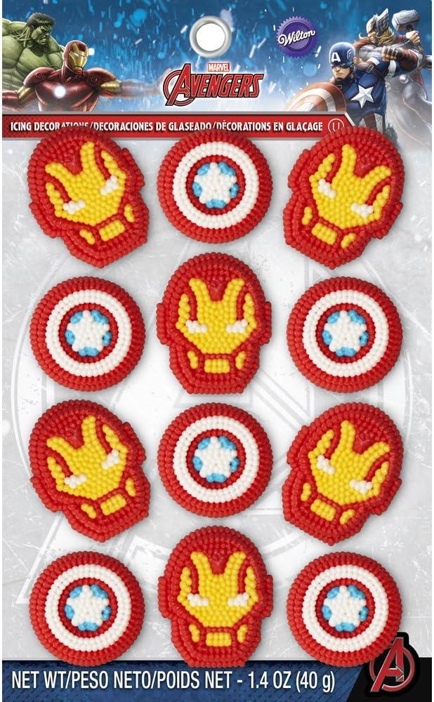Amazon.com: Wilton – Glaseado Marvel Avengers decoraciones ...