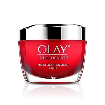 Amazon.com: Olay Regenerist Micro Sculpting Cream Night Advanced Anti-Ageing  Moisturiser 50g: Beauty
