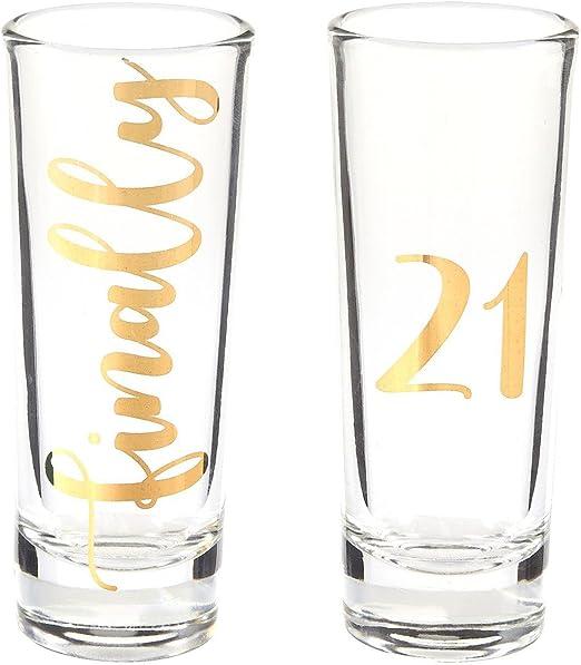 Amazon.com: Novedad Regalo de cumpleaños – Vasos de chupito ...