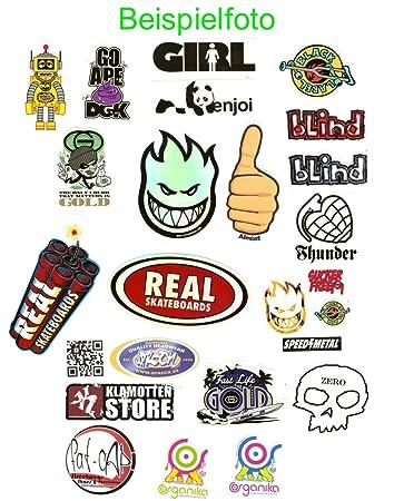 9451d75045a914 Sticker Set Skater Labels Brand und Marken Aufkleber - Pack S ...