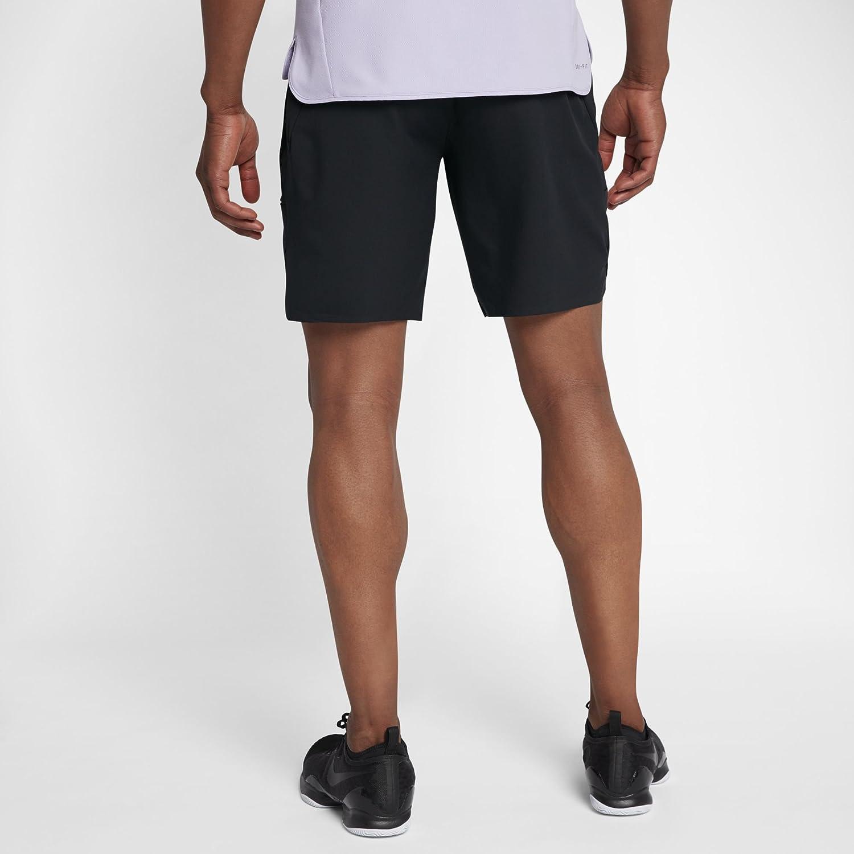 quality design be162 b7033 Nike Roger Federer Court Flex Ace 9inch Men s Tennis Shorts, black   Amazon.co.uk  Sports   Outdoors