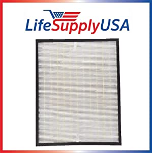 LifeSupplyUSA Replacement HEPA Filter for Envion AllergyPro AP350 Air Purifier Allergy Pro AP 350