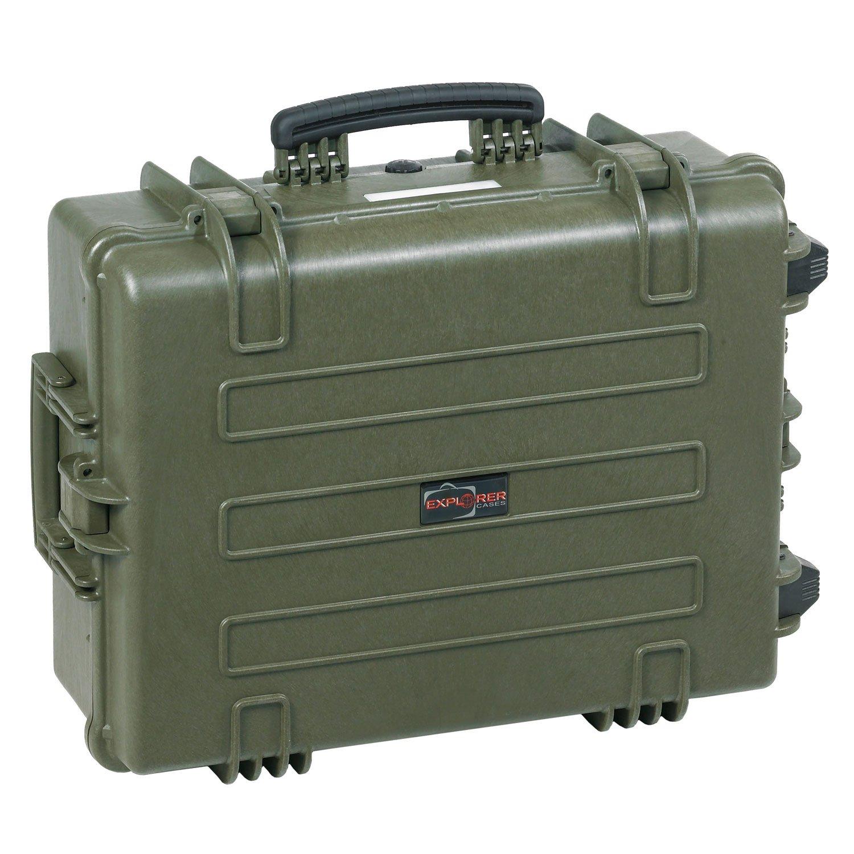 Explorer Cases 5823 GE防水防塵多目的保護ケース空、withホイール、ミリタリーグリーン B0053K8IYC