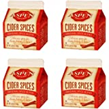 Aspen Mulling Cider Spice - Original Spice Blend - 5.65 oz Carton - Set of 4
