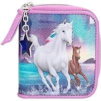 Depesche 11261 portemonnee Miss Melody Northern Lights, seringkleuren, ca. 12 x 10 x 3 cm groot, met vakken voor munten…