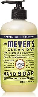 product image for MRS. MEYER'S CLEAN DAY Liquid Hand Soap lemon verbena, 12.5 Fl Oz (Pack of 2)