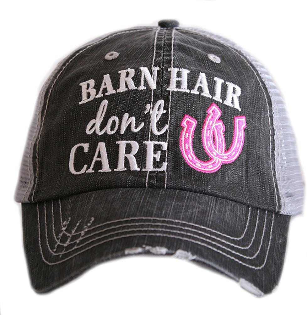 Katydid Barn Hair Don't Care Women's Trucker Hat