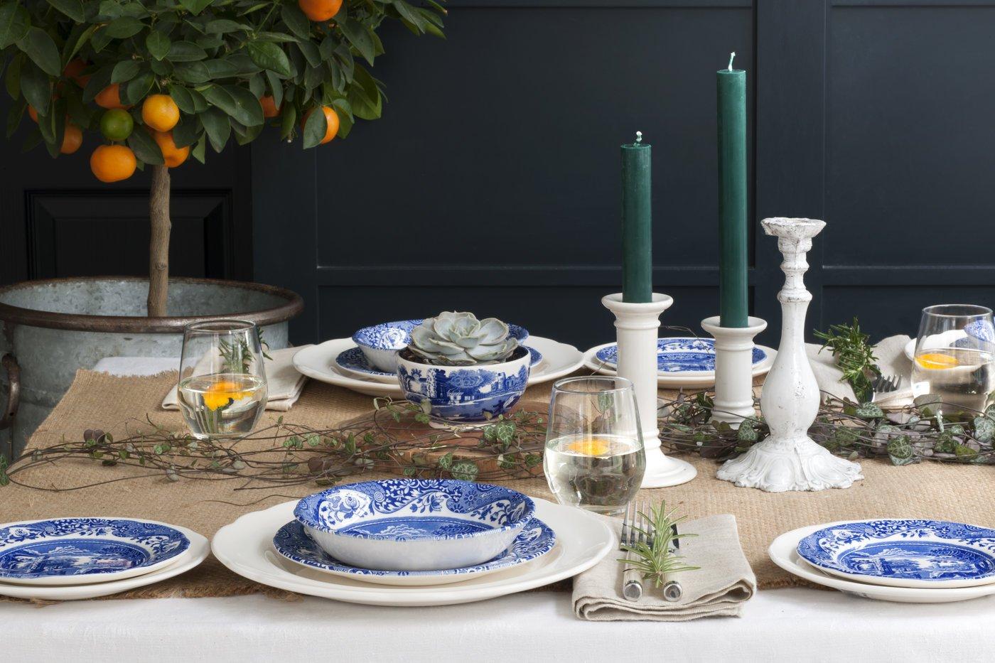 Spode Blue Italian Dinner Plate, Set of 4 by Spode (Image #6)