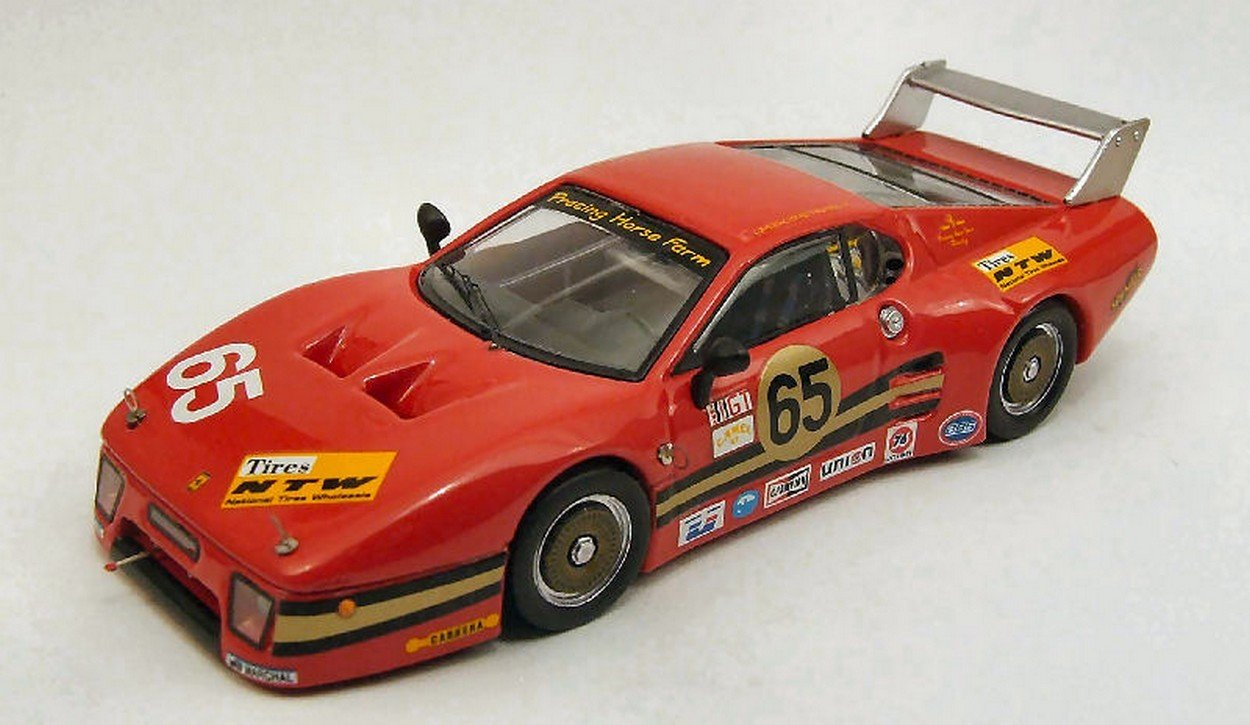 BEST BT9401 FERRARI 512 BB LM 3 SERIE N.65 DAYTONA 1983 DIE CAST MODEL 1:43