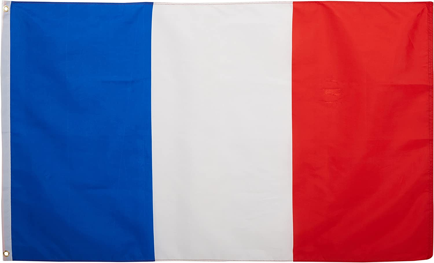 Quality Standard Flags France Polyester Flag 3 By 5 Garden Outdoor