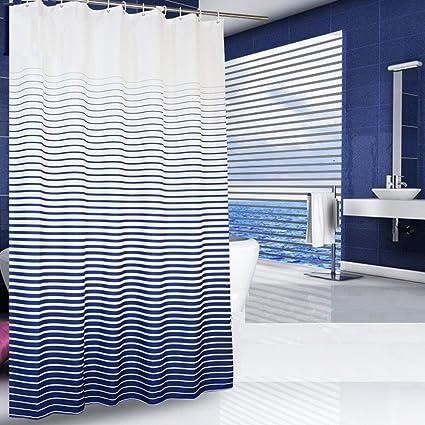 Amazon Uforme Modern Bathroom Decorations Cross Stipe Ombre