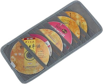 Estuche portadiscos (30 x 14,5 cm, capacidad para 12 CDs/DVDs): Amazon.es: Electrónica
