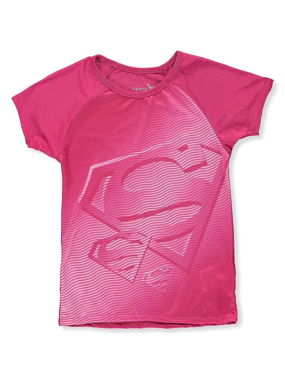 Supergirl Girls' Performance T-Shirt 10-12