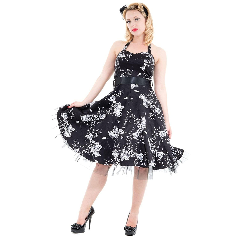 1950s Rockabilly Dresses  50s Rockabilly Pinup Party Swing Prom Dress £38.99 AT vintagedancer.com