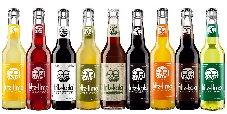 Fritz-Kola Sixpack 6er Paket 0,33l Flaschen: Amazon.de: Lebensmittel ...