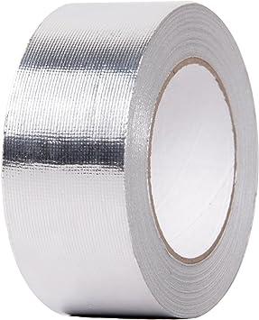 16ft Silver Fiberglass Wrap Barrier Tape Heat Shield Roll Exhaust Tape For Car