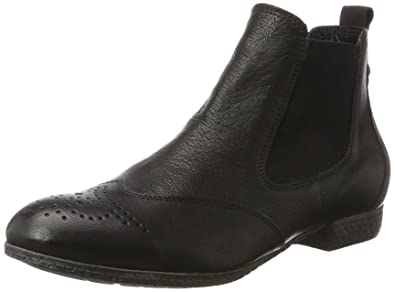 Think GUAD, Damen Desert Boots, Schwarz (SCHWARZ 00), 41.5 EU