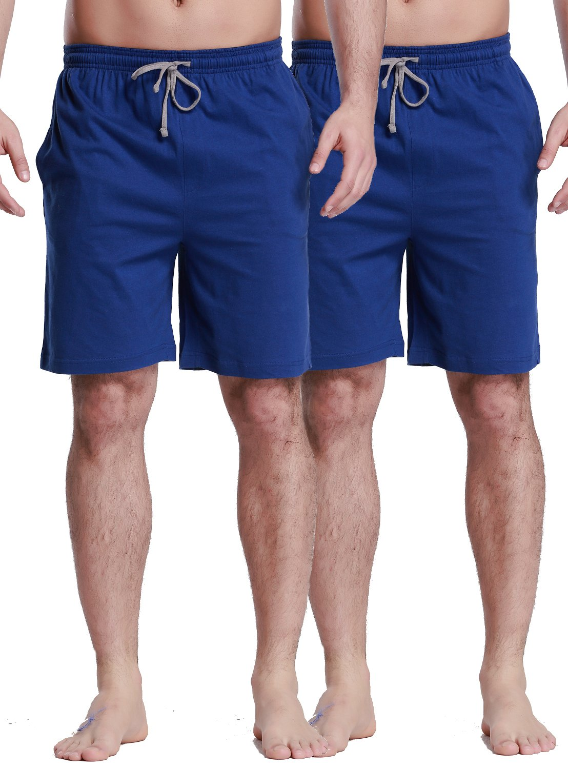 CYZ Collection CYZMen'sSleepShorts-Blue2PK-2XL