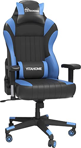 YITAHOME Gaming Chair Big and Tall Heavy Duty 350lbs Ergonomic Video Game Chair Racing Style High Back Office Computer Chair