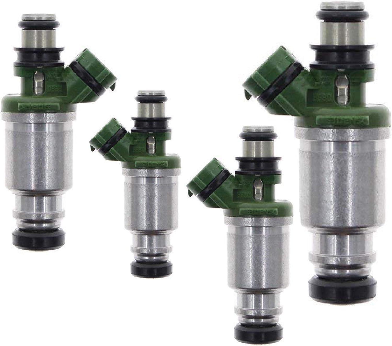 Best Upgrade Set Of 4 Fuel Injectors 98 99 Toyota Corolla 1.8L 98 99 Prizm 1.8L
